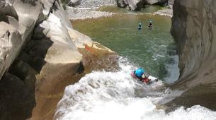 Canyoning-Cirque de Salazie, Hell-Bourg-Canyon of Trou Blanc in La Reunion-10