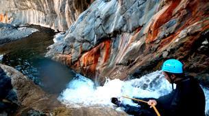 Canyoning-Cirque de Cilaos-Canyon du Bras Rouge à La Reunion-13
