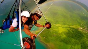 Ala detla-Annecy-Hang gliding tandem flight above Annecy's Lake-1