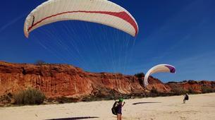 Parapente-Albufeira-One day paragliding course in Albufeira - Falasia beach-2