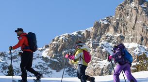 Raquette à Neige-Pyrénées Orientales-Snowshoeing excursion in The Spanish Pyrenees-4