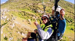 Paragliding-Marrakech-Tandem paragliding over the Kik Plateau, Morocco-4