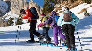 Raquette à Neige-Pyrénées Orientales-Snowshoeing excursion in The Spanish Pyrenees-1