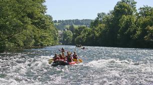 Canyoning-Vallée d'Ossau-Rafting sur la rivière de Gave d'Ossau dans la vallée d'Ossau, près de Pau-2