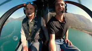 Helicoptère-Annecy-Baptême Hélicoptère au-dessus du Lac d'Annecy-3