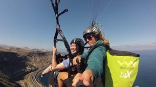 Paragliding-Gran Canaria-Tandem paragliding in Playa de las Canteras, Gran Canaria-2