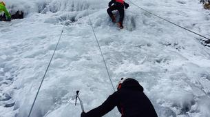 Cascade de Glace-Pyrénées Orientales-Ice climbing initiation in The Spanish Pyrenees-4