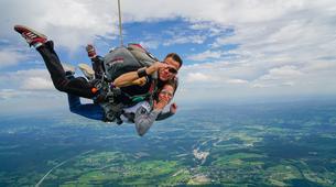 Skydiving-Liege-Tandem skydive from 4000m in Spa, Belgium-1