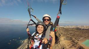Paragliding-Gran Canaria-Tandem paragliding in Playa de las Canteras, Gran Canaria-3