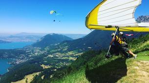 Ala detla-Annecy-Hang gliding tandem flight above Annecy's Lake-4