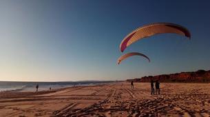 Parapente-Albufeira-One day paragliding course in Albufeira - Falasia beach-6