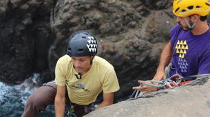 Rock climbing-Gran Canaria-Climbing initiation course in Gran Canaria-1