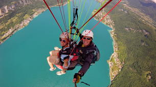 Paragliding-Annecy-Paragliding tandem flight above Annecy lake-5