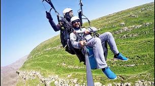 Paragliding-Marrakech-Tandem paragliding over the Kik Plateau, Morocco-5