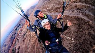 Paragliding-Marrakech-Tandem paragliding over the Kik Plateau, Morocco-1