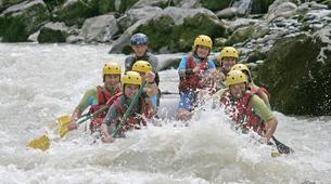 Canyoning-Vallée d'Ossau-Rafting sur la rivière de Gave d'Ossau dans la vallée d'Ossau, près de Pau-1