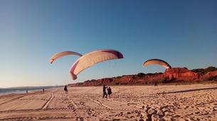 Parapente-Albufeira-One day paragliding course in Albufeira - Falasia beach-4