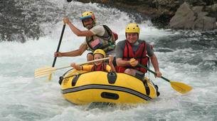 Canyoning-Vallée d'Ossau-Rafting sur la rivière de Gave d'Ossau dans la vallée d'Ossau, près de Pau-3