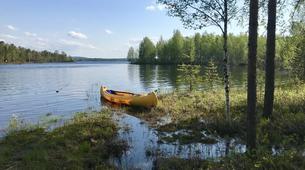 Kajak-Rovaniemi-Kanufahren in Lappland, Finnland-3