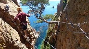 Via Ferrata-Girona-Via Ferrata Cala del Molí on Costa Brava near Barcelona-3