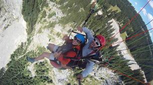 Paragliding-Morzine, Portes du Soleil-Tandem paragliding flight in Morzine - Avoriaz-4