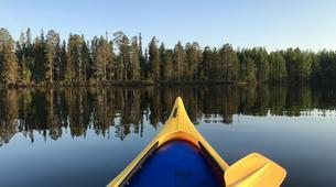 Kajak-Rovaniemi-Kanufahren in Lappland, Finnland-1
