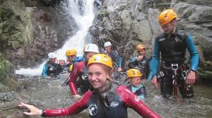 Canyoning-Girona-Canyoning at La Riera d'Osor Gorge near Girona-2