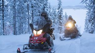 Motoneige-Kiruna-Snowmobile Tour with Lunch near Kiruna-1