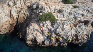 Coasteering-Mallorca-Coasteering on the cliffs of Mallorca-3