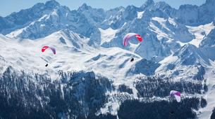 Paragliding-Verbier-Intro to paragliding courses in Verbier, Switzerland-1