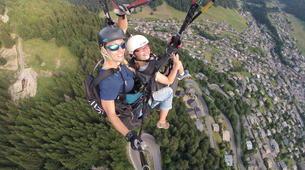 Paragliding-Morzine, Portes du Soleil-Tandem paragliding flight in Morzine - Avoriaz-5