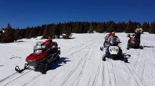 Snowmobiling-Borovets-Snowmobile excursion in Borovets, near Sofia-1