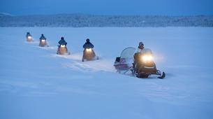 Motoneige-Kiruna-Snowmobile Tour with Lunch near Kiruna-5