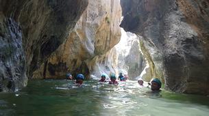 Canyoning-Costa del Sol-Canyoning Excursion at Guadalmina Gorge near Marbella-1