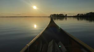 Kajak-Rovaniemi-Canoeing under the Midnight Sun near Rovaniemi, Finland-2