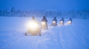 Motoneige-Kiruna-Snowmobile Tour with Lunch near Kiruna-4