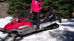 Snowmobiling-Borovets-Snowmobile excursion in Borovets, near Sofia-3