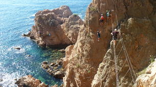Via Ferrata-Girona-Via Ferrata Cala del Molí on Costa Brava near Barcelona-6