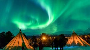 Glisse alternative-Tromsø-Northern lights chase to Aurora camps near Tromso, Norway-1