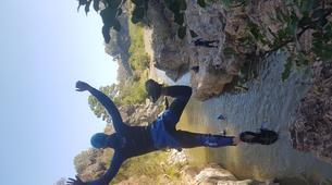 Canyoning-Costa del Sol-Canyoning Excursion at Guadalmina Gorge near Marbella-4