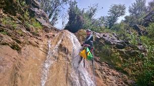 Canyoning-Costa del Sol-Canyoning Excursion at Guadalmina Gorge near Marbella-3