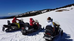 Snowmobiling-Borovets-Snowmobile excursion in Borovets, near Sofia-2
