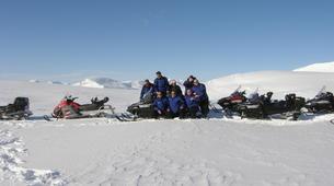 Motoneige-Kiruna-Snowmobile Tour with Lunch near Kiruna-2