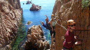 Via Ferrata-Girona-Via Ferrata Cala del Molí on Costa Brava near Barcelona-1