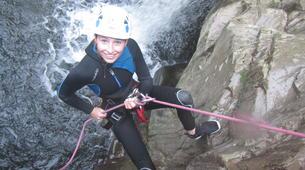 Canyoning-Girona-Canyoning at La Riera d'Osor Gorge near Girona-3