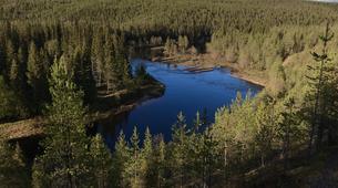 Kajak-Rovaniemi-Kanufahren in Lappland, Finnland-4