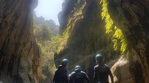 Canyoning-Costa del Sol-Canyoning Excursion at Guadalmina Gorge near Marbella-5