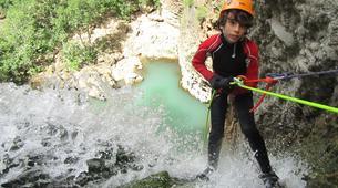 Canyoning-Malaga-Canyoning Tajo Ronda Level 2.5-4