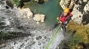 Canyoning-Malaga-Canyoning Tajo Ronda Level 2.5-5