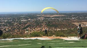Parapente-Loulé-Tandem paragliding in Loulé Cerro de Cabeço de Camera in Loulé-3